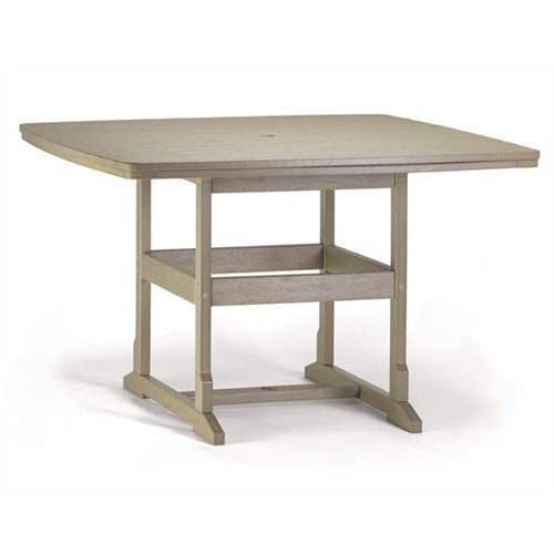 "58"" x 58"" Counter Table - Danny Vegh's - Outdoor Furniture - Breezesta - 1"