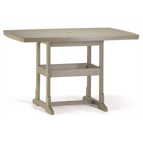 "42"" x 60"" Counter Table - Danny Vegh's - Outdoor Furniture - Breezesta - 1"