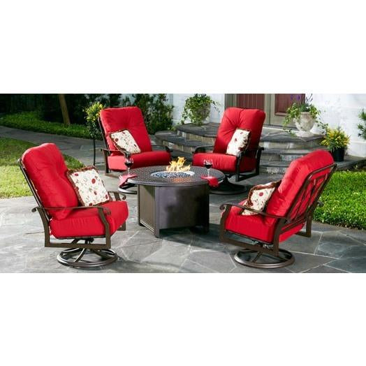 Cortland Cushion High-Back Dining Arm Chair, Outdoor Furniture, Woodard - Danny Vegh's