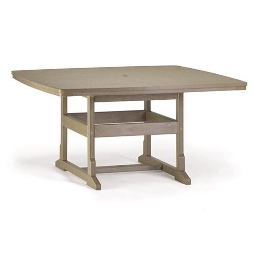 "58"" x 58"" Dining Table - Danny Vegh's - Outdoor Furniture - Breezesta - 1"