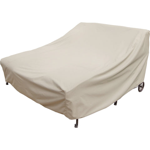 Double Chaise Lounge Cover with Ties - CP141