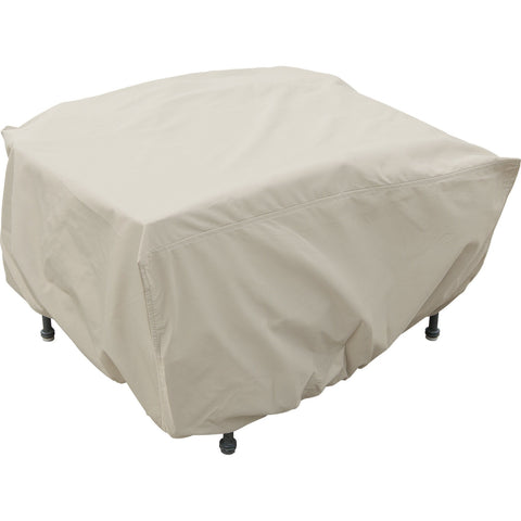 Wicker Ottoman Cover with Elastic - CP210