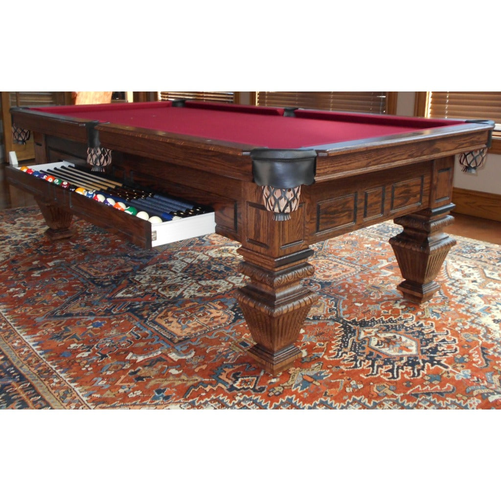 Emerald Pool Table, Pool Tables, A.E. Schmidt - Danny Vegh's