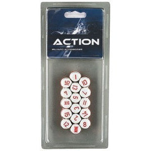 Pill Balls - White, Billiard Accessories, CueStix - Danny Vegh's