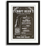 Craft Beer 24 x 32, Home Decor, Z Art - Danny Vegh's