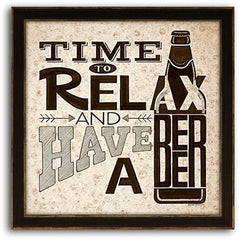 Beer - Time to Relax 13 x 13