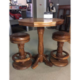 Mateo Pub Set, Stools and Pub Tables, California House (Beauty Craft) - Danny Vegh's