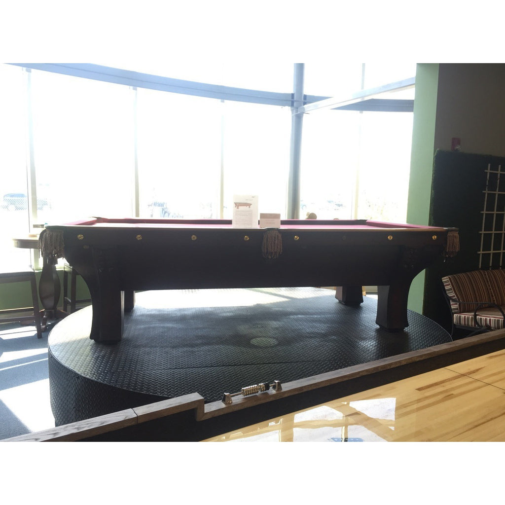 9' Brunswick Pfister Antique, Pool Tables, Brunswick - Danny Vegh's