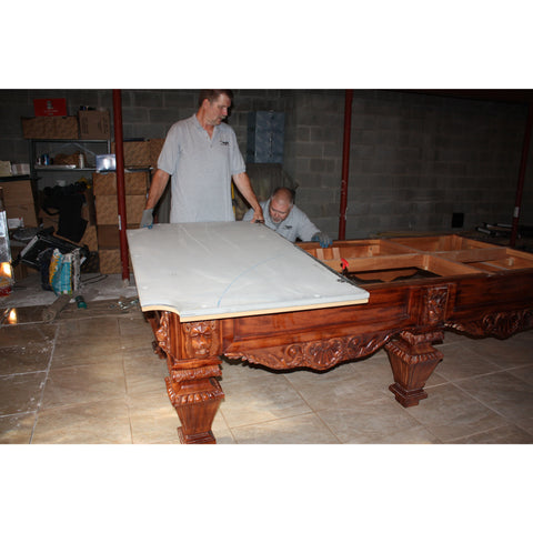 Dismantle And Move of a Pool Table with No Set Up