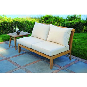 Ipanema Sectional - Armless Settee, Outdoor Furniture, Kingsley Bate - Danny Vegh's