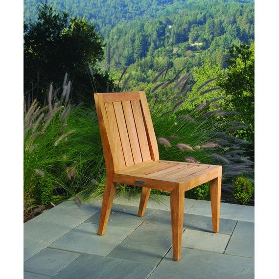 Mendocino Dining Side Chair, Outdoor Furniture, Kingsley Bate - Danny Vegh's