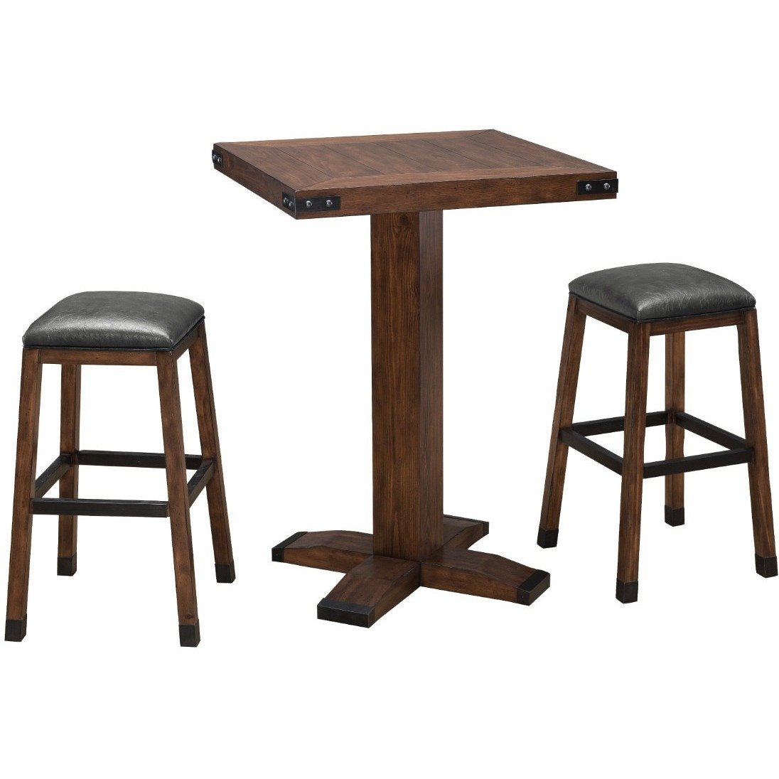 Signature rustic pub table stools and pub tables legacy danny veghs