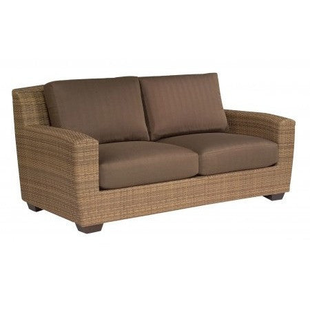 Saddleback Love Seat, Outdoor Furniture, Woodard - Danny Vegh's
