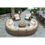Saddleback Lounge Chair, Outdoor Furniture, Woodard - Danny Vegh's