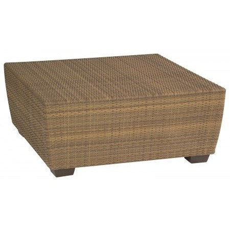 Saddleback Square Coffee Table, Outdoor Furniture, Woodard - Danny Vegh's