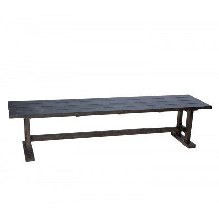 Augusta Woodlands Dining Bench, Outdoor Furniture, Woodard - Danny Vegh's
