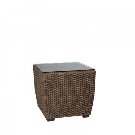 Augusta Woven Square End Table