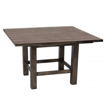 Augusta Woodlands Square End Table, Outdoor Furniture, Woodard - Danny Vegh's