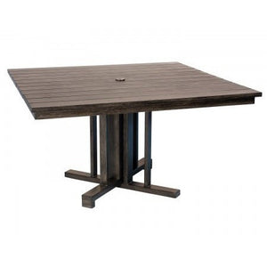 Augusta Woodlands Square Dining Table, Outdoor Furniture, Woodard - Danny Vegh's