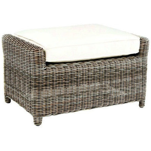 Sag Harbor Deep Seating Ottoman, Outdoor Furniture, Kingsley Bate - Danny Vegh's