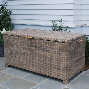 "Sag Harbor 67"" Cushion Box, Outdoor Furniture, Kingsley Bate - Danny Vegh's"