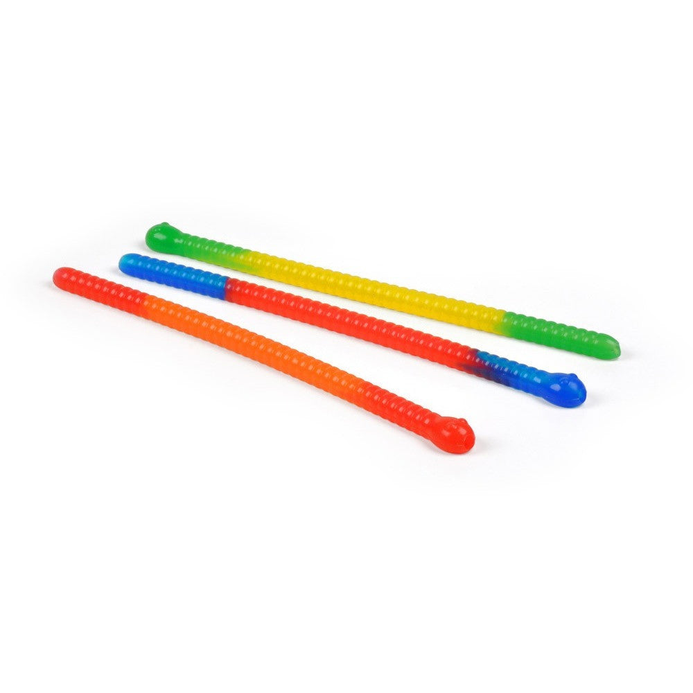 Slinky Drinks Worm Straws, Accessories, Fred & Friends - Danny Vegh's