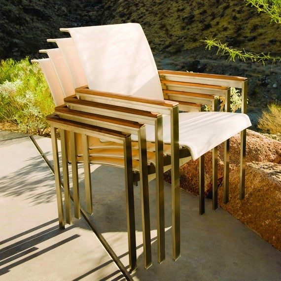 Tivoli Dining Armchair (Stacking), Outdoor Furniture, Kingsley Bate - Danny Vegh's