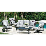 Wiltshire Ottoman, Outdoor Furniture, Woodard - Danny Vegh's