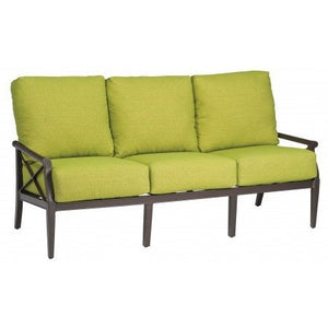Andover Cushion Sofa, Outdoor Furniture, Woodard - Danny Vegh's