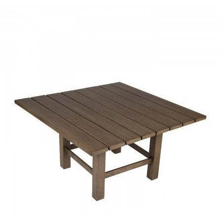 Augusta Woodlands Square Coffee Table, Outdoor Furniture, Woodard - Danny Vegh's