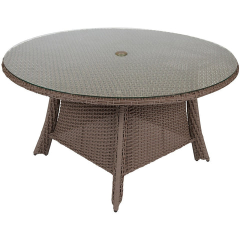 Augusta Woven Round Dining Table