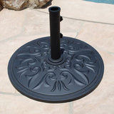 Aluminum Style Premium Cast Umbrella Stand, Outdoor Furniture, Galtech - Danny Vegh's