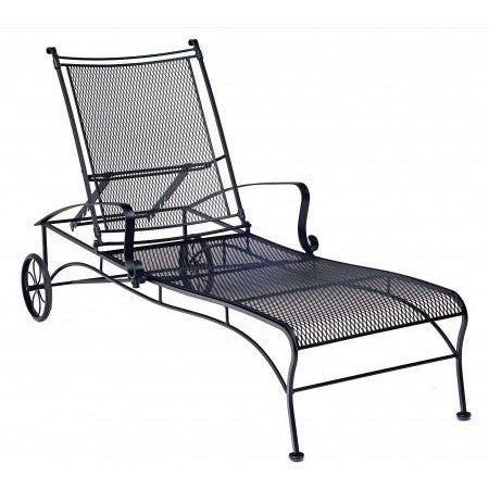 Bradford Adjustable Chaise Lounge, Outdoor Furniture, Woodard - Danny Vegh's