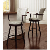 Cardin Swivel Stool, Kitchen and Bar Stool, Amisco - Danny Vegh's