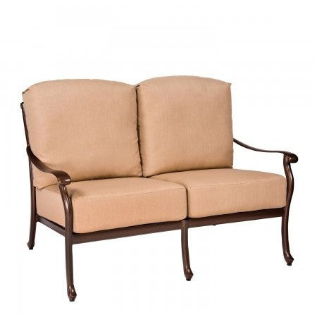 Casa Love Seat, Outdoor Furniture, Woodard - Danny Vegh's