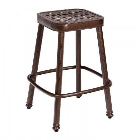 Casa Stationary Counter Stool, Outdoor Furniture, Woodard - Danny Vegh's