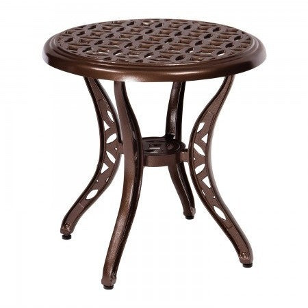 Casa End Table, Outdoor Furniture, Woodard - Danny Vegh's