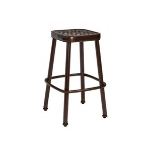Casa Stationary Bar Stool, Outdoor Furniture, Woodard - Danny Vegh's