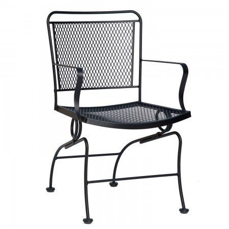 Constantine Coil Spring Dining Chair, Outdoor Furniture, Woodard - Danny Vegh's
