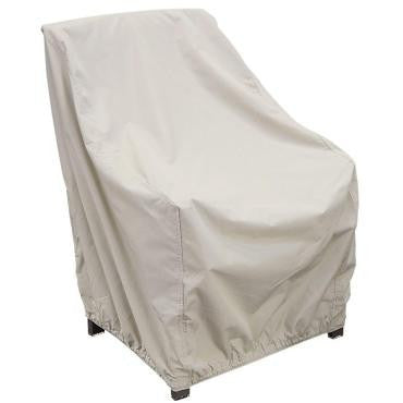 High Back Chair Cover with Elastic - CP112