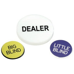 Game Buttons, Set of 3
