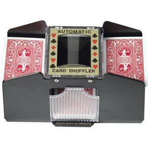 4 Deck Card Shuffler, Poker Accessories, CueStix - Danny Vegh's