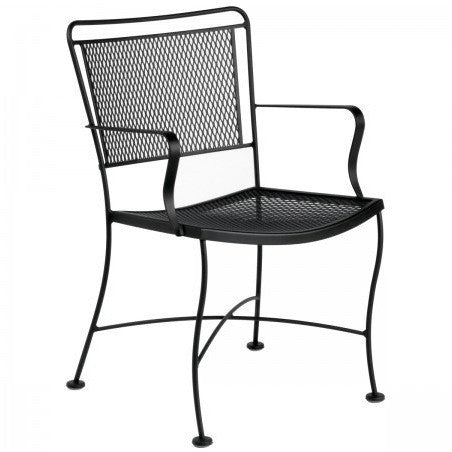 Constantine Dining Arm Chair, Outdoor Furniture, Woodard - Danny Vegh's