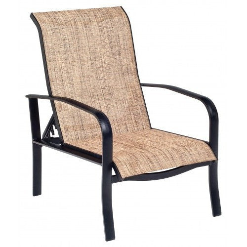 Fremont Sling Adjustable Lounge Chair, Outdoor Furniture, Woodard - Danny Vegh's