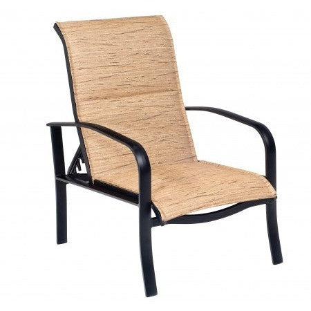 Fremont Padded Sling Adjustable Lounge Chair, Outdoor Furniture, Woodard - Danny Vegh's