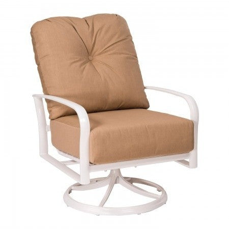 Fremont Cushion Swivel Rocking Lounge Chair, Outdoor Furniture, Woodard - Danny Vegh's