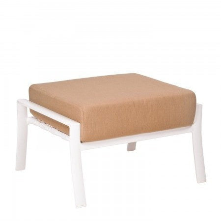 Fremont Cushion Ottoman, Outdoor Furniture, Woodard - Danny Vegh's