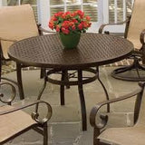 "Deluxe 36"" Round Bar Height Table with Trellis Top"