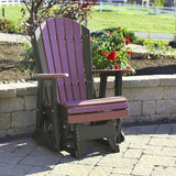 2′ Adirondack Glider Chair, Outdoor Furniture, Luxcraft - Danny Vegh's