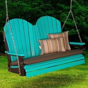 4′ Adirondack Swing, Outdoor Furniture, Luxcraft - Danny Vegh's